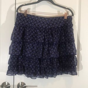 Tommy ruffle layer skirt